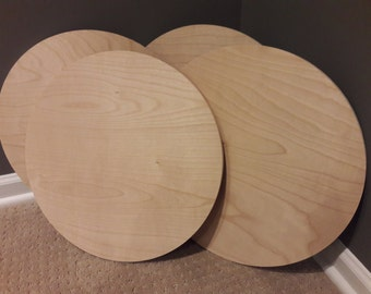 Plywood Circles, 15 inch Plywood Circles, Wood Circles for Seats