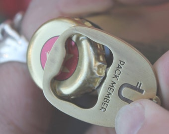 Dog Tag Bottle Opener + Engraving