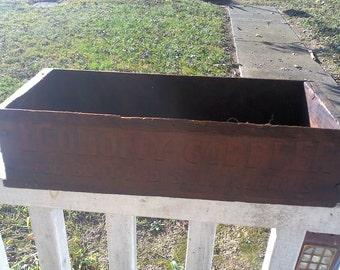 Vintage wooden box - Cobblers boot repair kit