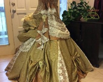 Victorian Style Ballgown