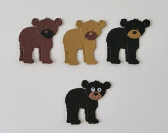 Bear Cub Die Cuts