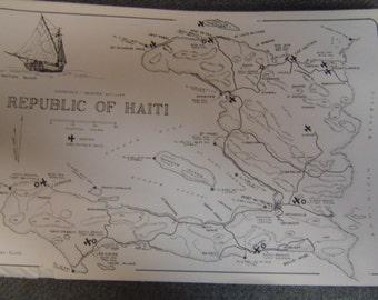 Republic of Haiti nautical chart/map Harry Kline
