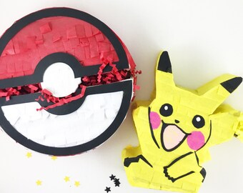 Mini Pikachu Pokemon Piñata