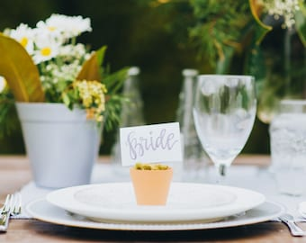 Wedding Place Cards - Set of 10