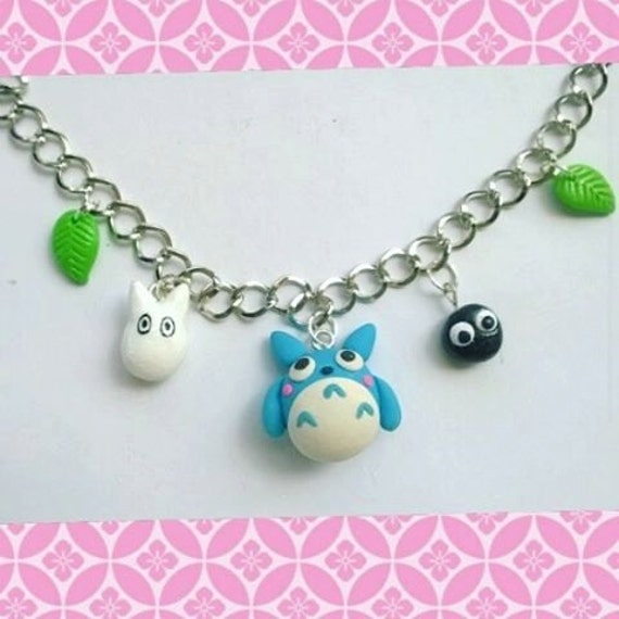 Totoro charm bracelet