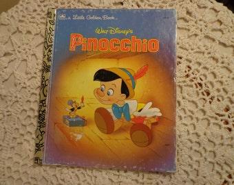 A Little Golden Book, Walt Disney's Pinocchio, 1990,  13