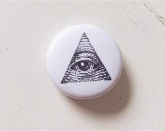 Illuminati Pinback Button (31mm)