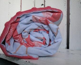 Minky Blanket Flamingo