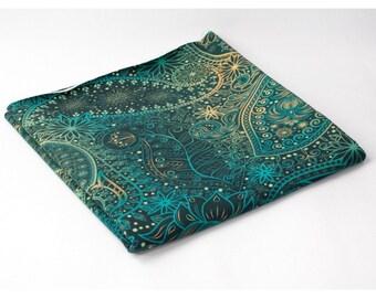 Orient design loop type knit / French Terry Sweatshirt