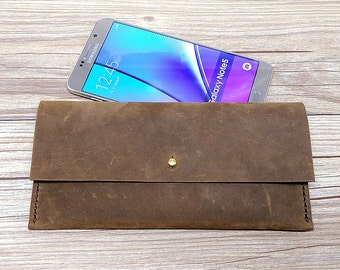 Men Wallet, Leather iPhone 6 Case,iPhone6s Case, leather iPhone6 Plus Case, iPhone phone Wallet, Personalized Gift For Him, Q486
