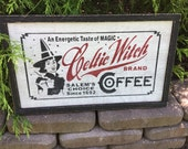 Halloween, Witch, Sign, Primitive, Weathered, Rustic, Wood, Signs, Celtic Witch, Coffee, Celtic, Holiday, Game Board, Gameboard,