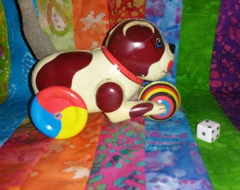 Vintage Windup Toy Dog!