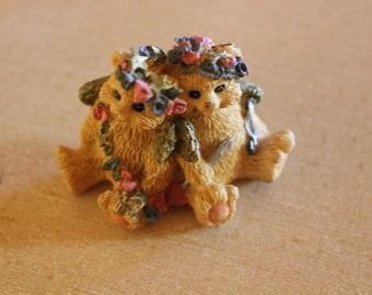 Vintage Miniature Bears figurine