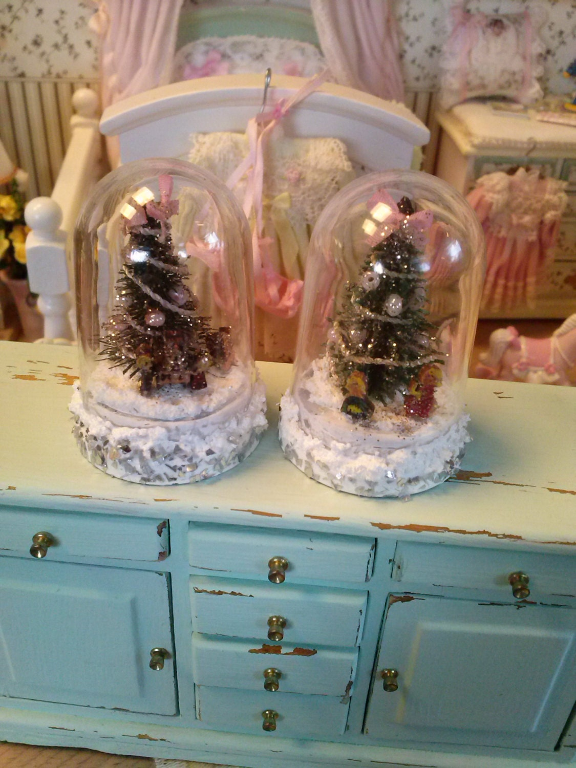 decorations miniature bell by sommisisters