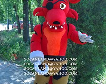Fnaf costumes fnaf foxy cosplay fnaf foxy mascot costumes foxy