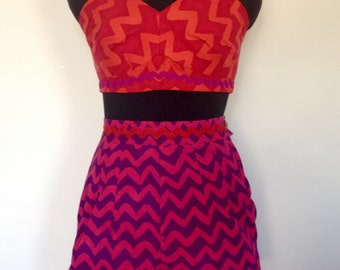 Sizzling hot beach or festival outfit in a UK size 10.