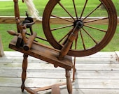 Antique Spinning Wheel, Possibly late 19th c.