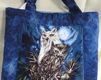 Owl Pair Tote