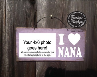 nana gift, gift for nana, nana picture frame, nana sign, nana, Christmas gift for nana, mother's day gift for Nana, birthday gift  Nana, 130