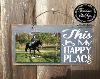 this is my happy place picture frame, happy place frame, happy place, this is my happy place sign, this is my happy place decoration, 228