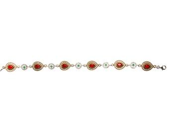 Authentic Ottoman style sterling silver bracelet ZB5016