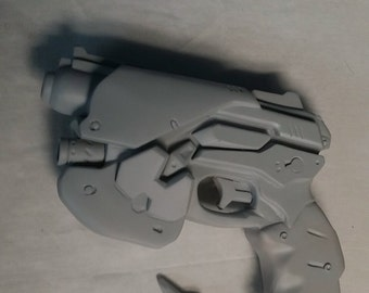 D.Va Gun: Hand crafted fully finished prop gun (Pre-order. Final details to be added)