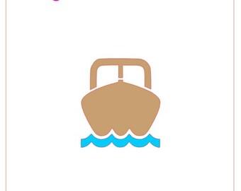 Boat Stencil