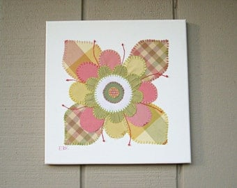 Flower #2 Fabric Wall Art