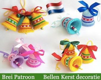 088NLY Brei Patroon Kerstbellen -Amigurumi - by Zabelina Etsy
