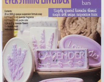 Soap Making Kit DIY - Everything Lavender Life Of The Party (57041)