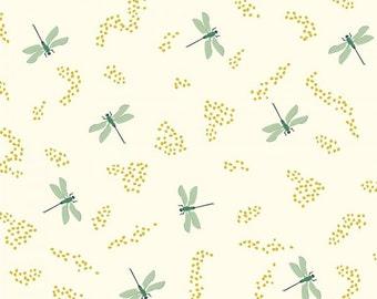 Organic Fitted Crib Sheet, Organic Baby Bedding, GOTS Certified Organic Crib Sheet, Dragonflies