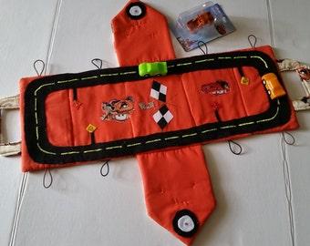 Handmade Portable Fabric Race Car Garage