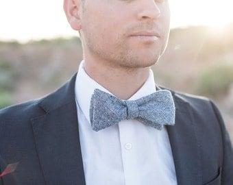 Bow Tie, Solid Navy Men's Bow Tie