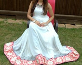 Floor Length White Gown- NOW AT 40% DISCOUNT.