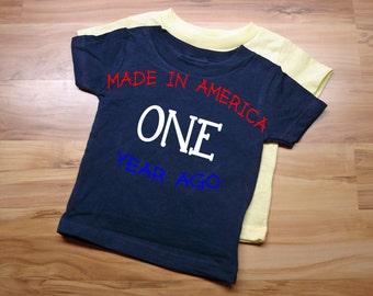 Boys First Birthday T Shirt