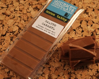 Salted Caramel - Milk Chocolate Bar