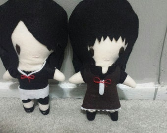 Fatal Frame 2 Fatal Frame 3 Plush Chibi Kawaii Cute Mio and Mayu Or Yae and Sae Rei or Miku