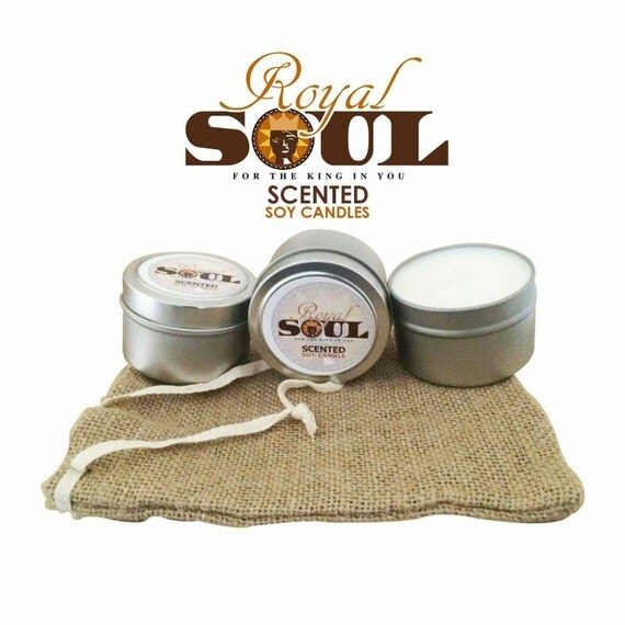 Masculine scented Soy Candles by SoulArt9 on Etsy