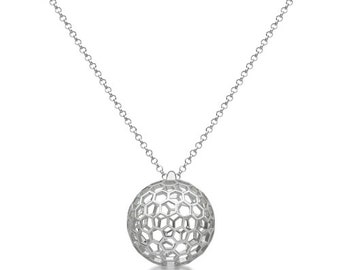 Honeycomb Sphere Pendant