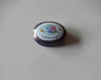 MOTHERS DAY TRINKET Box with Lid