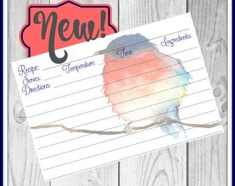 Cute Recipe Cards | Personalized Custom Recipe Cards | Bridal Recipe Cards | Birthday Recipe Cards | Recipe Cards
