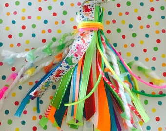 Rainbow Unicorn Planner Tassel