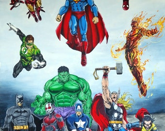 Superheros!!!!