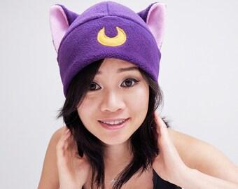 SailorMoon - Diana Hat - Beanie Hat - Cat Fleece Hat - Cat Ear Hat - Cat Hat - Cosplay Hat - Anime Hat - Cat Fleece Hat, Manga ski snowboard
