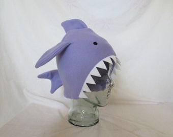Fleece Shark Hat