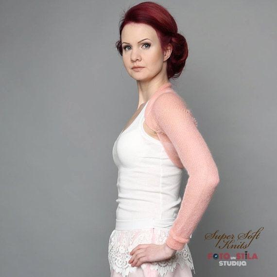Bridesmaids Shrug Bridal Bolero Cover Up Long Sleeve Jacket