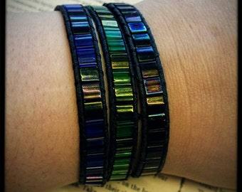Stained glass bracelet