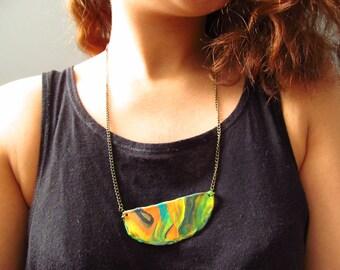 Flora Swirls Necklace