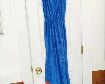 Vintage Terry Dress/ bathing suit cover up