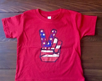 4th of July Shirt Kids.